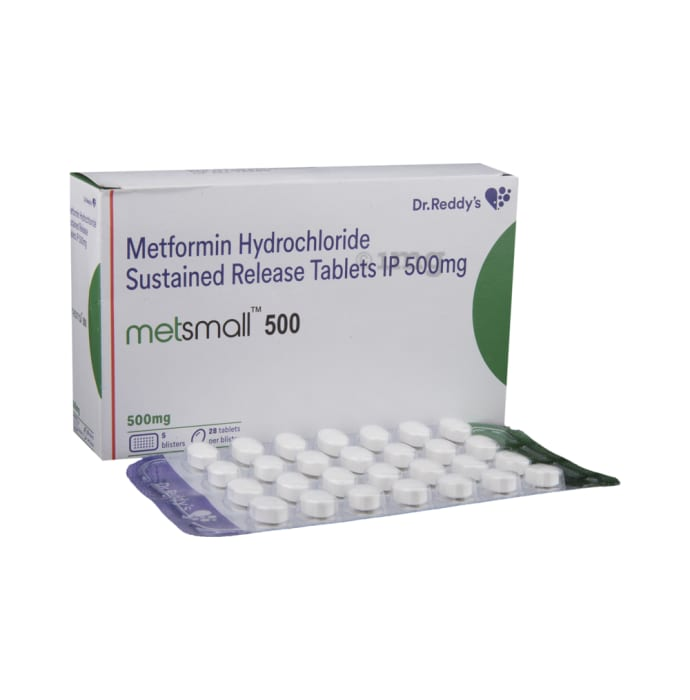 Metsmall 500mg Tablets 28's