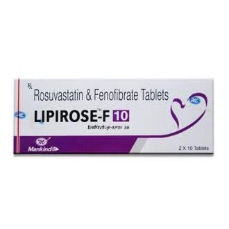 Lipirose-F 10 Tablet
