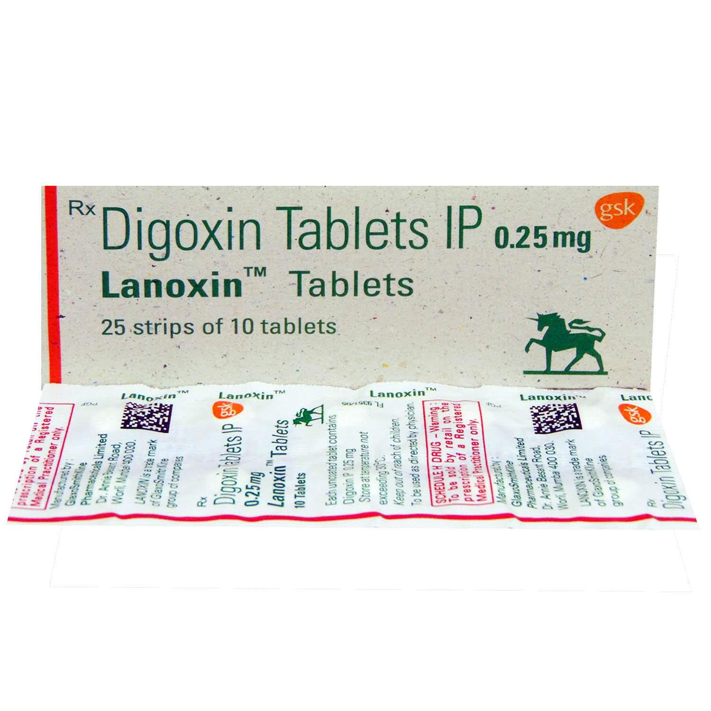 Lanoxin 0.25mg Tablet