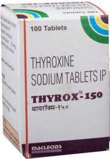 Thyrox 150 Tablet Medicines Buy Medicines Online At Discounted