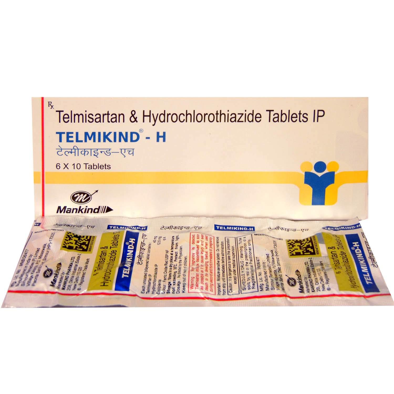 Telmikind-H 40mg Tablet