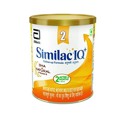 Similac iq + stage 2 with dha 400gm tin