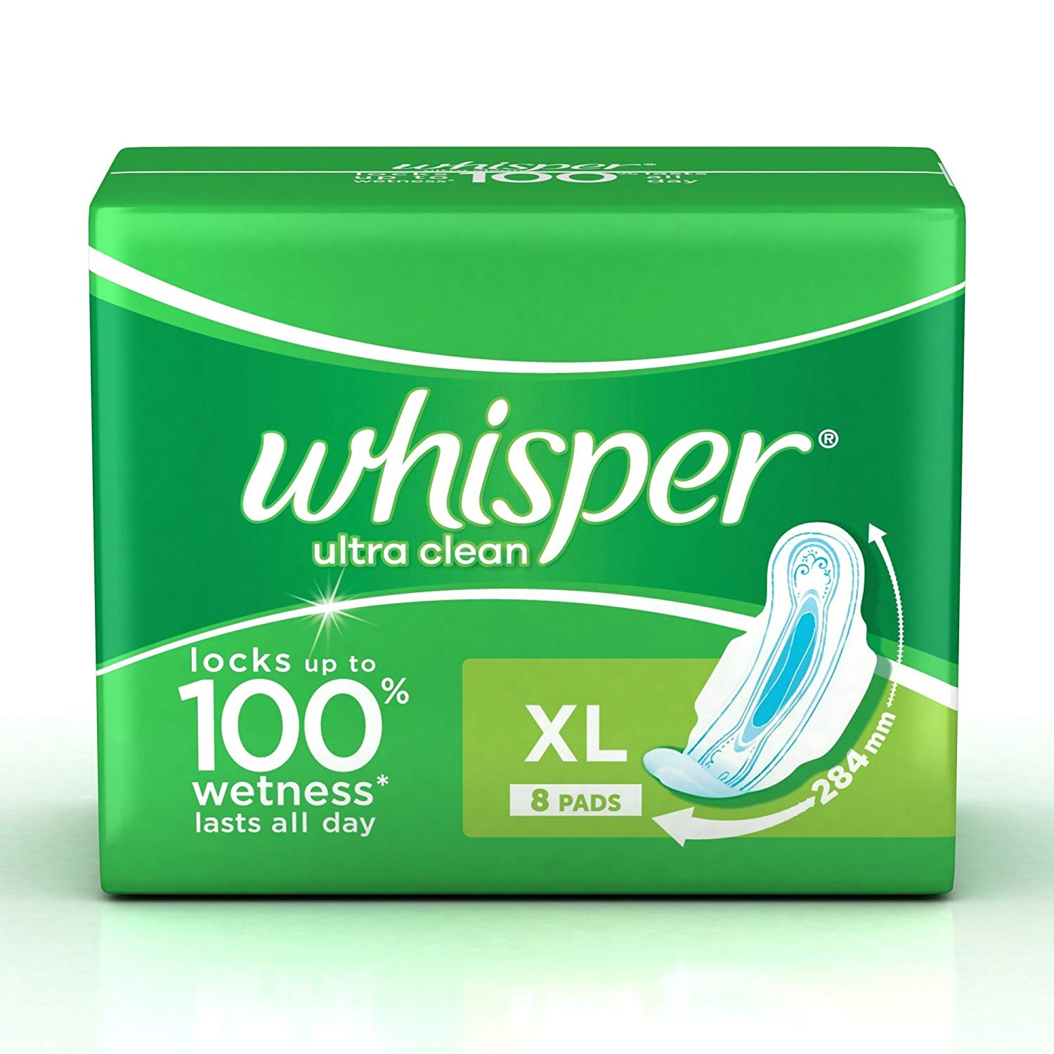Whisper Ultra Clean xl 8's