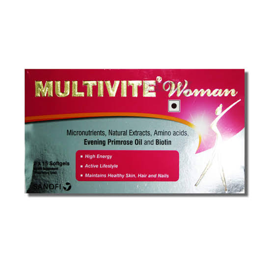 Multivite woman softgel