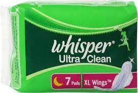 Whisper Ultra Clean xl + Wings 7's