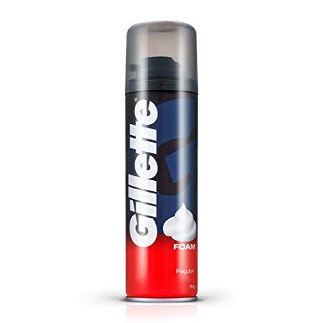Gillette foam regular 196gm