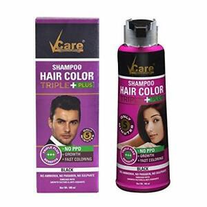 V Care Shampoo Haircolor Triple+ For Men&Women 25ml