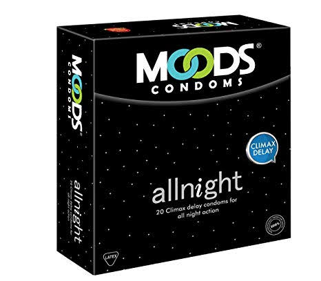 MOODS CONDOMS ALLNIGHT 3'S