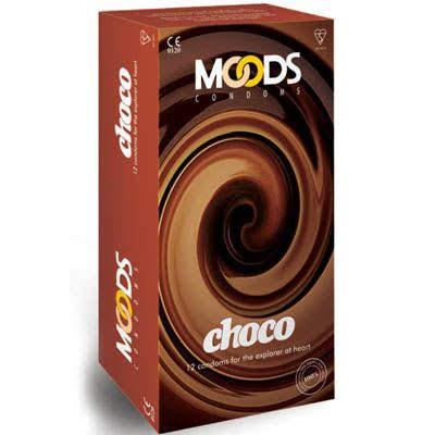 MOODS CONDOMS CHOCO 12'S