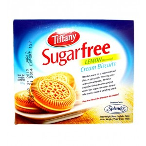 Tiffany Sugar Free Lemon Flavored Cream Biscuits