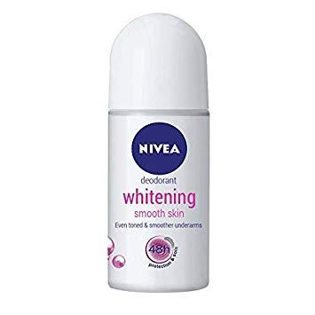 Nivea Whitening smooth skin roll on 25ml