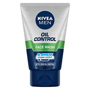 Nivea Men Oil Control Face Wash 100ml