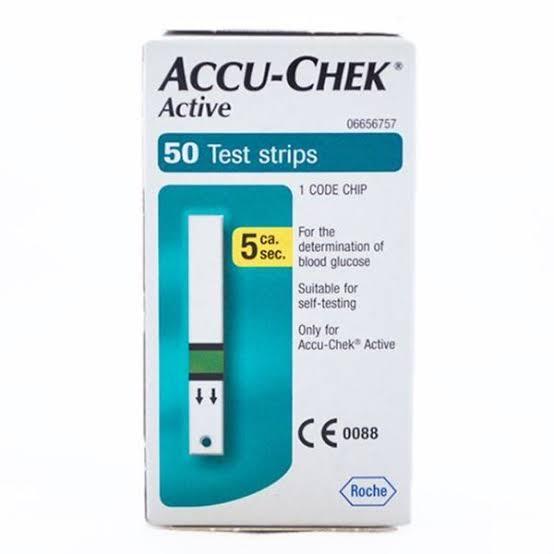 Accuchek Active Strips 50's