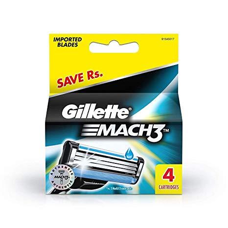 Gillette Mach Start Cartridge 4's