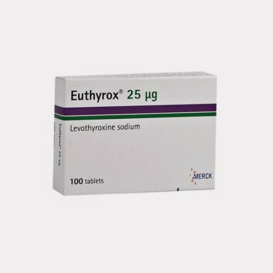 Euthyrox 25mg Tab 100 S Medicines Buy Medicines Online At Discounted Price From Mrmedicine