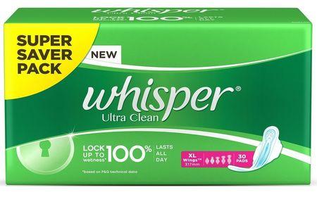 Whisper Choice Ultra Clean XXXL+4S