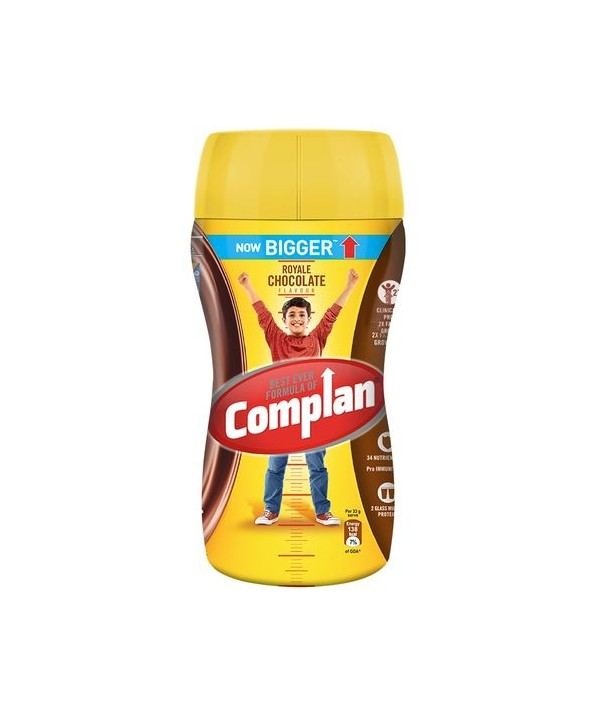 Complan Kesar Badam Flavour 500g Bottle