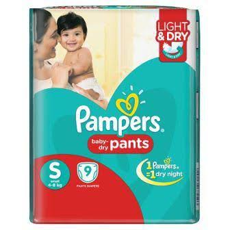 pampers baby dry pants (S) 16'S