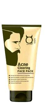 Qraa Men Acne Clearing Face Pack (100gm)