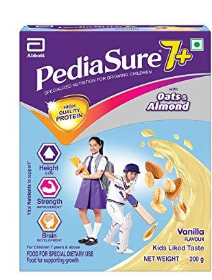 Pediasure 7 Plus Vanila 200gm BIB