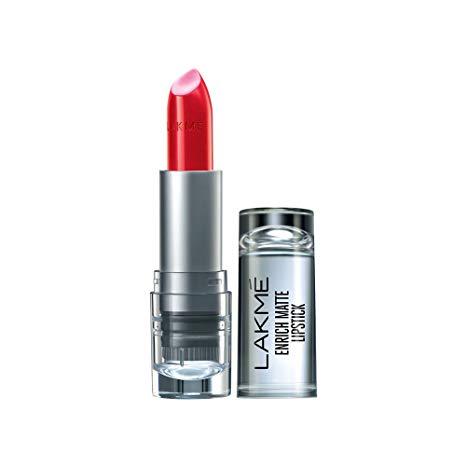 Lakme enrich matte Lipstick RM 18