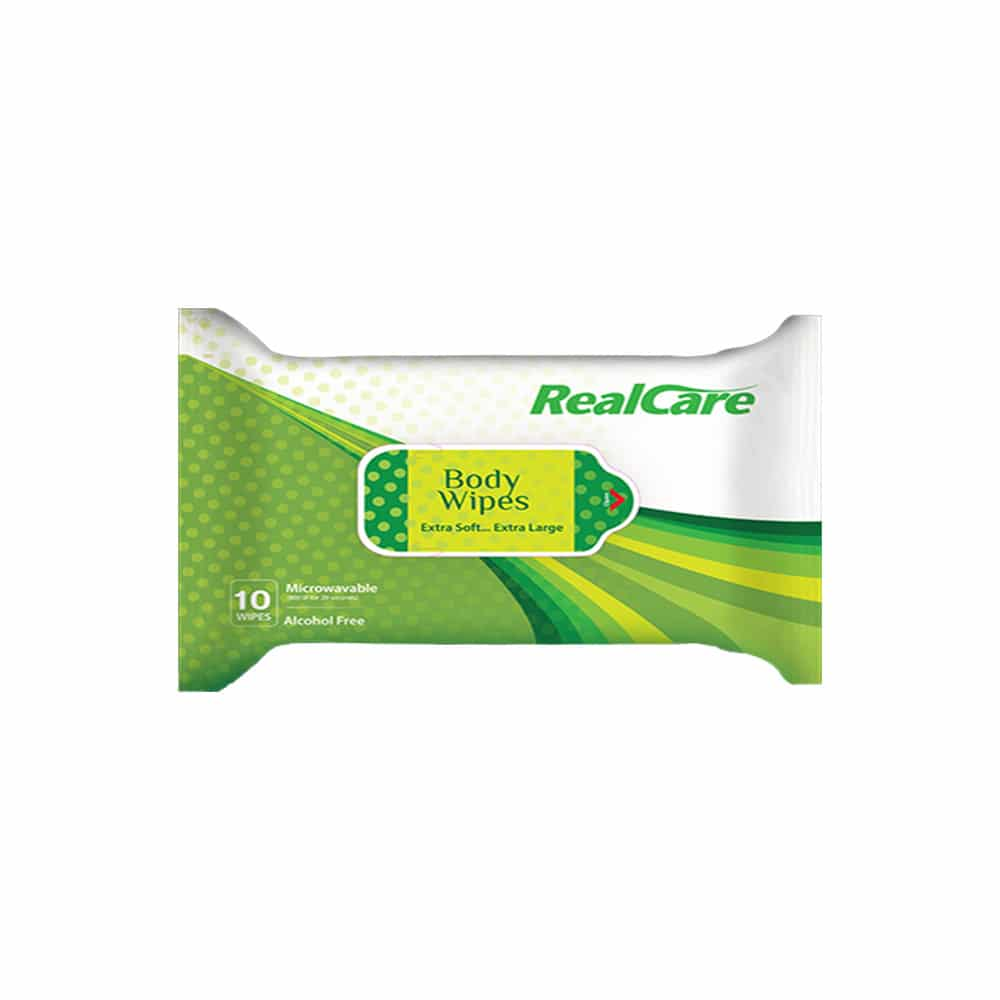 Real care body wipes