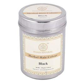 KHADI NATURAL BLACK HENNA HERBAL HAIR COLOUR 150GM
