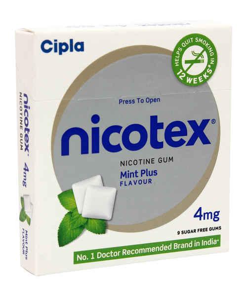 Nicotex 4mg Classic Fresh Mint