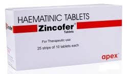 Zincofer tablet